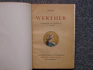 WERTHER.: GOETHE - CALBET