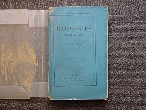 Les harmonies providentielles.: LEVEQUE Charles