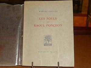 Les noëls de Raoul PONCHON.: COULON Marcel -