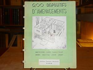 200 DISPOSITIFS D'AMENAGEMENTS. Salles de séjour - Chambres - Chambres d'enfants -...