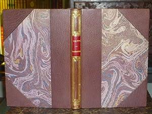 LAURETTE ou le cachet rouge.: VIGNY Alfred (
