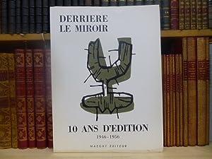 DERRIERE LE MIROIR N° 92-93 - DIX: MIRO Juan -