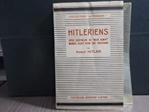 "HITLERIENS. Idées centrales de ""Mein Kampf"". Manuel: HITLER Adolf"