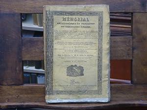 Mémorial encyclopédique et progressif des connaissances humaines: MALEPEYRE Ainé -