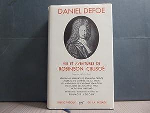VIE ET AVENTURES DE ROBINSON CRUSOE. Réflexions: DEFOE Daniel
