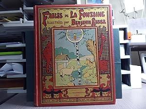 FABLES de LA FONTAINE illustrées par Benjamin: LA FONTAINE Jean