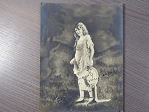 Photographie originale en tirage argentique, dédicacée et: PICKFORD Mary