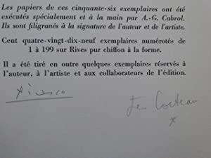 PICASSO de 1916 à 1961.: COCTEAU Jean -