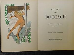 les contes de jean boccace.: BOCCACE Jean -