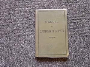 manuel du gardien de la paix. guide: ANONYME POLICE MARSEILLE
