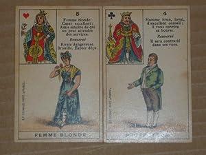 JEU de BONNE AVENTURE de 36 cartes: GRIMAUD B.P.