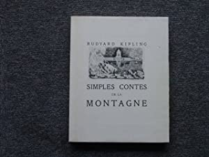 Simples contes de la montagne.: KIPLING Rudyard -