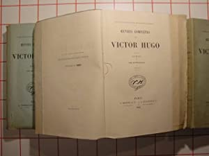 les misérables.roman v.oeuvres complètes.: HUGO ( Victor