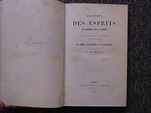 PNEUMATOLOGIE. DES ESPRITS ET DE LEURS MANIFESTATIONS: MIRVILLE, J. Eudes
