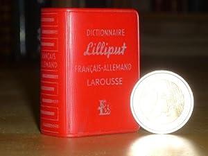 DICTIONNAIRE LILLIPUT. Français-Allemand.: DICTIONNAIRE LILLIPUT