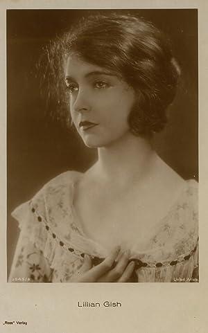 7 Portraits bzw. Szenenbilder von Mae Murray, Mary Pickford, Jackie Coogan und Lilian Gish.: ...