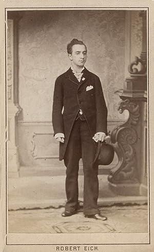 Bildnis des Komponisten. Orig.-Photo von Robert Eich, Dresden.: Panos, Kirkor (österreichischer ...