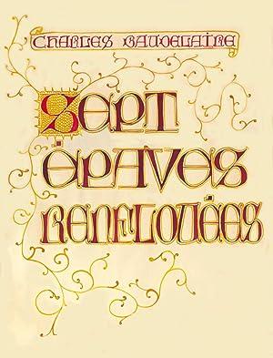 Sept Èpaves renflouées par Charles Melaye, Laureat: Baudelaire, Charles.