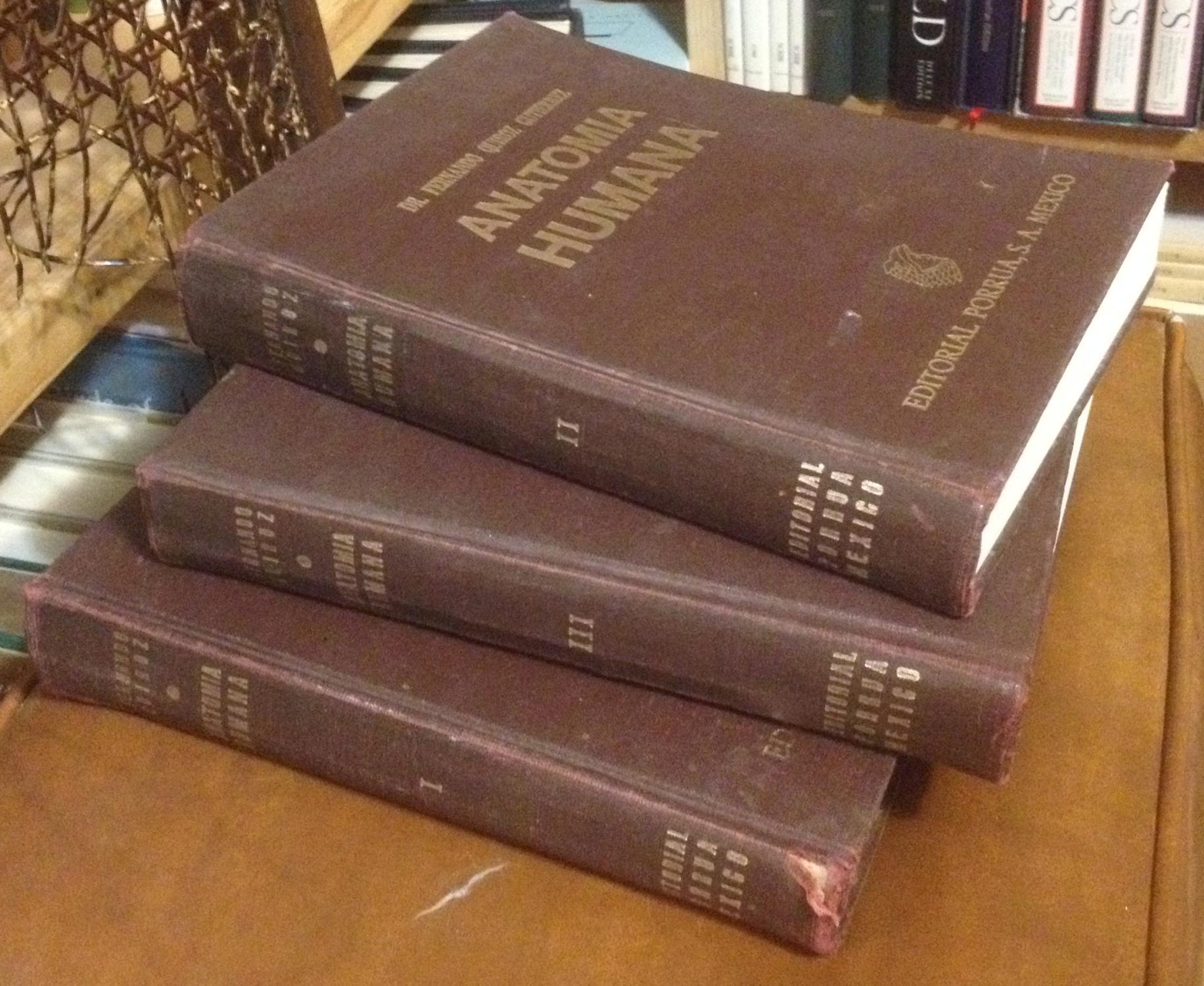 Tratado de Anatomia Humana: Tomo I,II&II de Gutierrez, Fernando ...