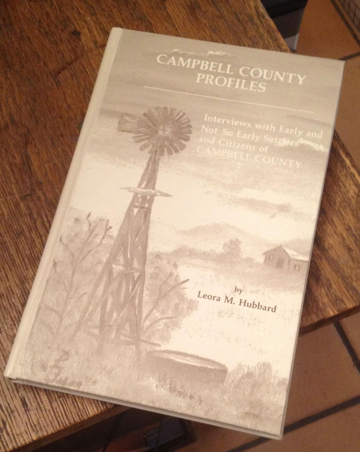 Campbell County Profiles Hubbard, Leora M.