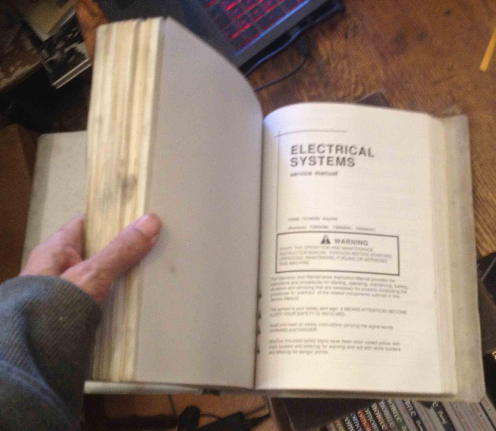 Fiatallis Service Manuals 73155403 (binder#) By Fiat-Allis