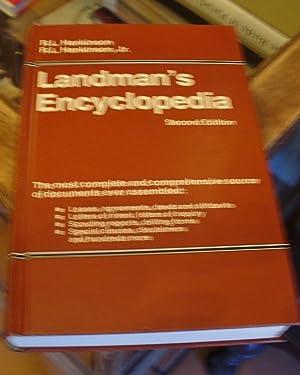 Landman's Encyclopedia: Second Edition: Hankinson, R. L.