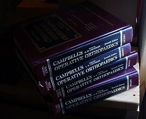 Campbell's Operative Orthopaedics: Seventh Edition - 4 Volume Set: Crenshaw, A. H. (ed)