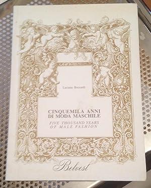 Cinquemila Anni Di Moda Maschile/Five Thousand Years: Boccardi, Luciana (trans.by