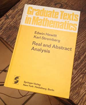 Real and Abstract Analysis: Hewitt, Edwin &