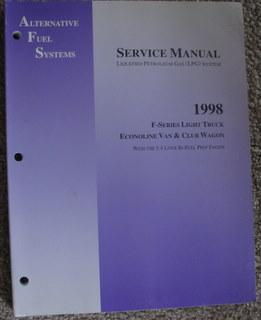 1998 Ford Alternative Fuel System (Liquefied Petroleum: Ford Motor Company