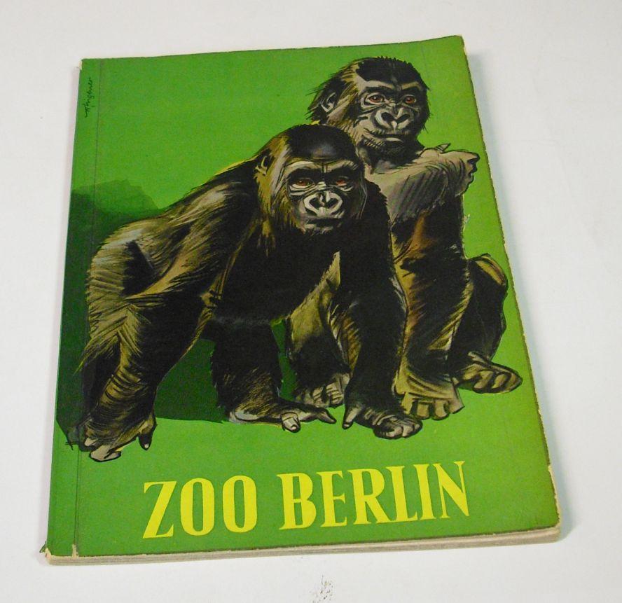 Zoo Wegweiser Durch Den Zoologischen Garten Berlin 1960 Von