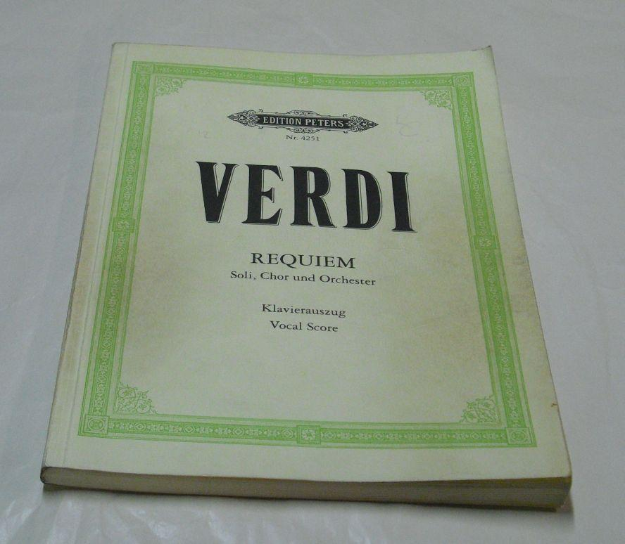 Requiem Vocal Score Dover Vocal Scores
