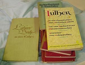 Luther, Martin. - Kleines Konvolut mit Schriften