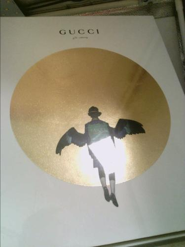 Gucci Gift Catalog Gucci [As New] [Hardcover] Unopend in cellophane.