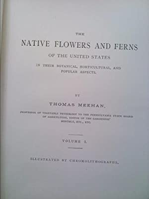 The Native Flowers and Ferns of the United States in Their Botanical, Horticultural, and Popular ...