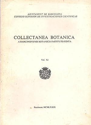 Collectanea Botanica - A barcinonensi botanico instituto: Bolos, O. de