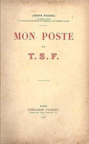 Mon poste de T.S.F.: Roussel, Joseph