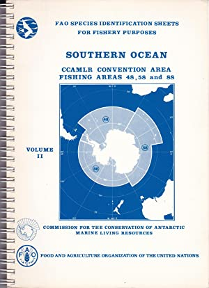 Southern ocean CCAMLR convention area, fishing areas: Fischer, W. /