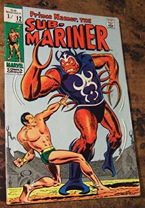 Prince Namor, the Sub-Mariner Vol 1 No 12 April 1969