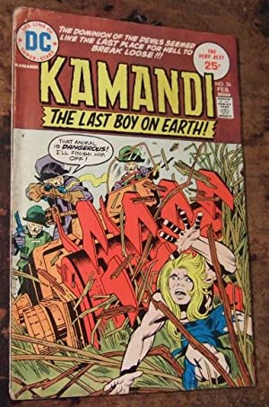Kamandi the Last Boy on Earth Vol 4 No 26 February 1975