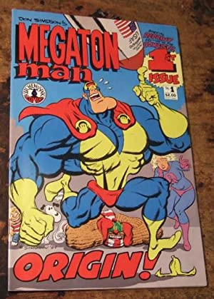 Don Simpson's Megaton Man No 1 ( Special Reprint of the Bombastic 1st Issue )
