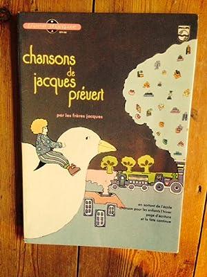 Chansons De Jacques Prevert Par Les Freres: PREVERT, JACQUES