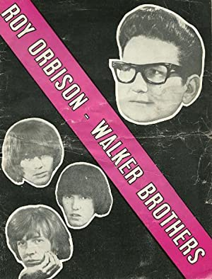 The Roy Orbison Walker Brothers Show Programme