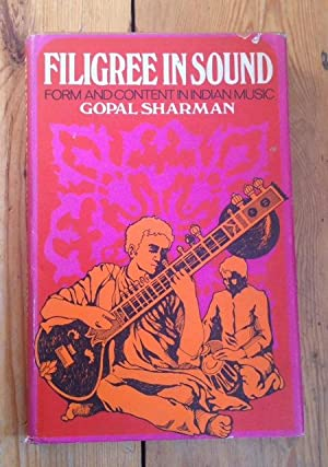 Filigree in Sound: Form and Contents in: SHARMAN, GOPAL
