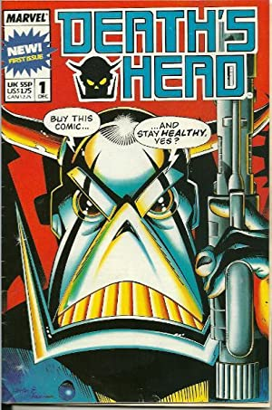 Death's Head Volume 1 Number 1 December 1988