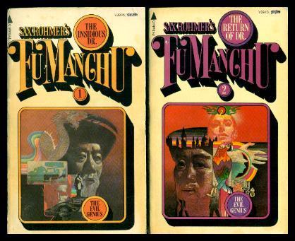 3fc23d0b662e1 THE INSIDIOUS DR. FU MANCHU - with - THE ...