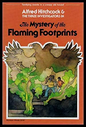 THE MYSTERY OF THE FLAMING FOOTPRINTS -: Carey, M. V.