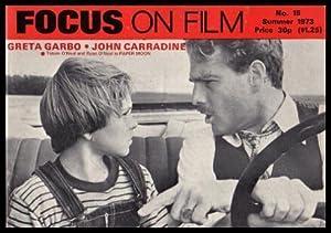 FOCUS ON FILM - Number 15 -: Eyles, Allen (editor)