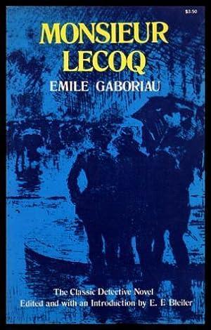 MONSIEUR LECOQ: Gaboriau, Emile (introduction