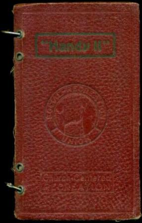 HANDY II - The Red Book of: Rohrbough, Lynn (editor)